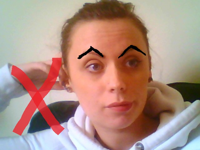 Work Yo Eyebrows Yo Diy Eyebrow Tweezing A Tiny Slice Of Kate