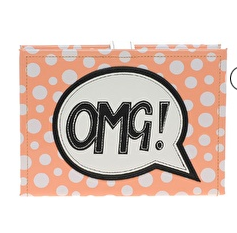 Asos comic print clutch