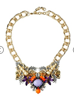 Asos embellished statement necklace
