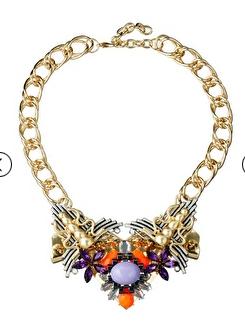 Asos embellished statement necklace