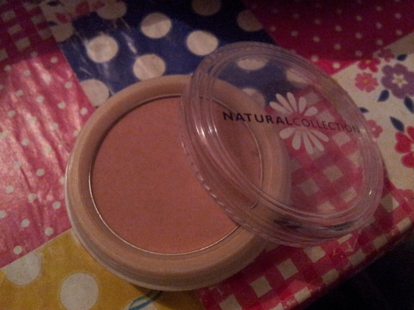 Natural Collection Blusher in Peach Melba