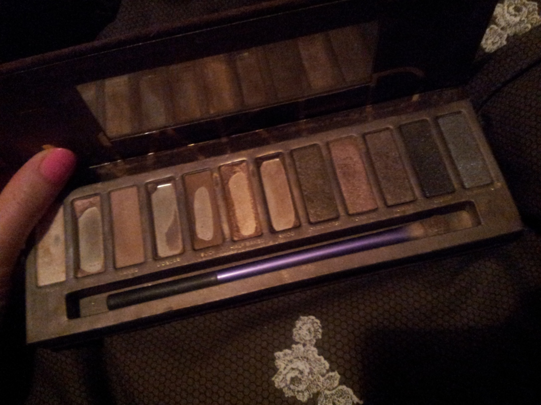 My much loved Naked palette