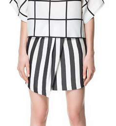 Zara monochrome skirt