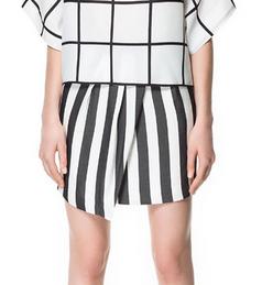Zara monochrome skirt