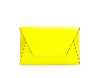 Zara Neon clutch