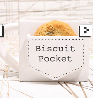 Biscuit pocket mug from Urban Outfitters