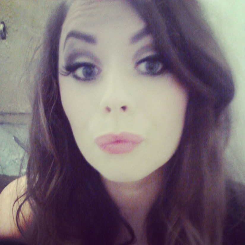 Drunken pose by Kate Higham. Make-up by Anca Condrache