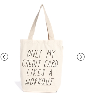 Talented Totes _ Talented Totes Sally Beerworth Only My Credit Card Likes a Work