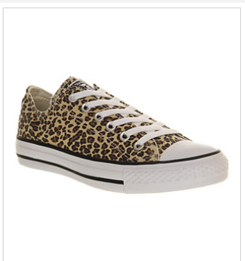 Leopard Print Converse from Office