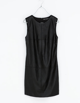 STRAIGHT COMBINATION DRESS - TRF - NEW THIS WEEK _ ZARA Ireland