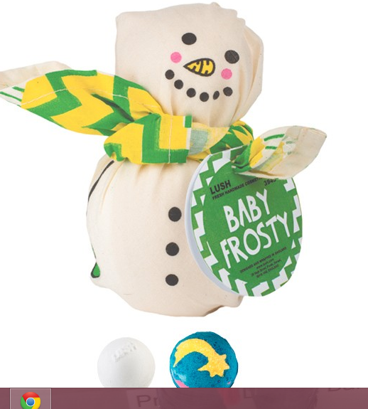 Baby Frosty.. even the name is adorable!