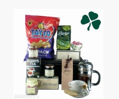 This Irish food hamper is great for anybody living abroad! :)