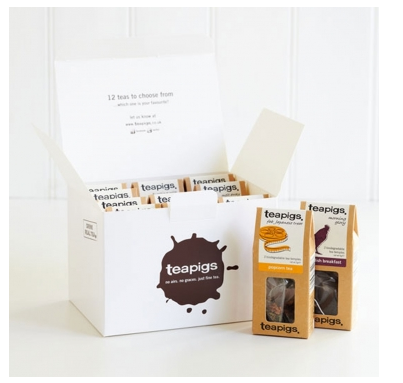 Teapigs Sample box gift set