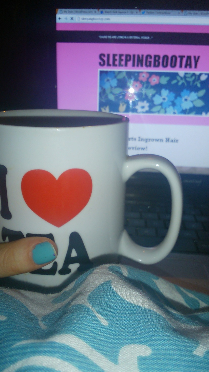 Tea, chats and blogging