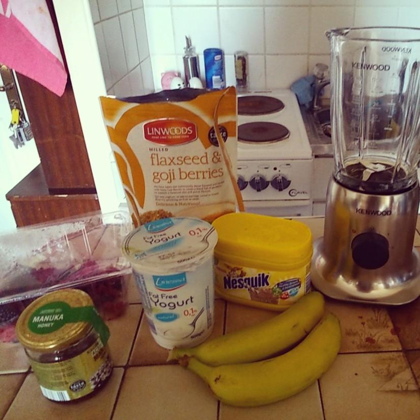 Berry and Banana Smoothie Recipe