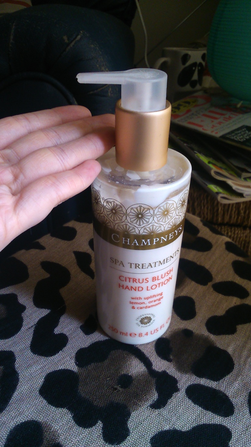 Champneys Citrus Blossom handcream