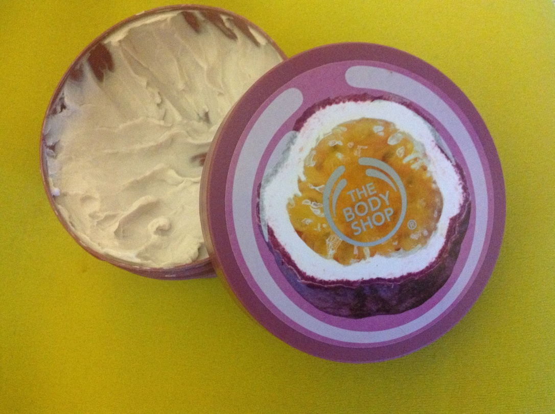 The Body Shop Body Butter in Passion Fruit