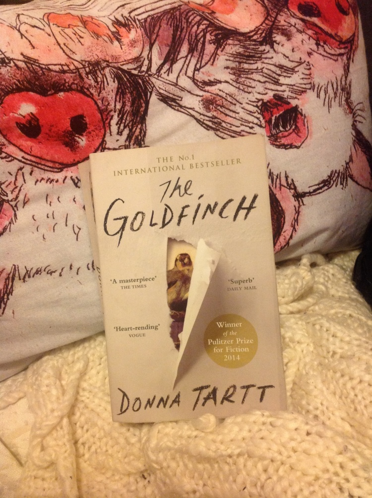 The goldfinch by Donna tart review