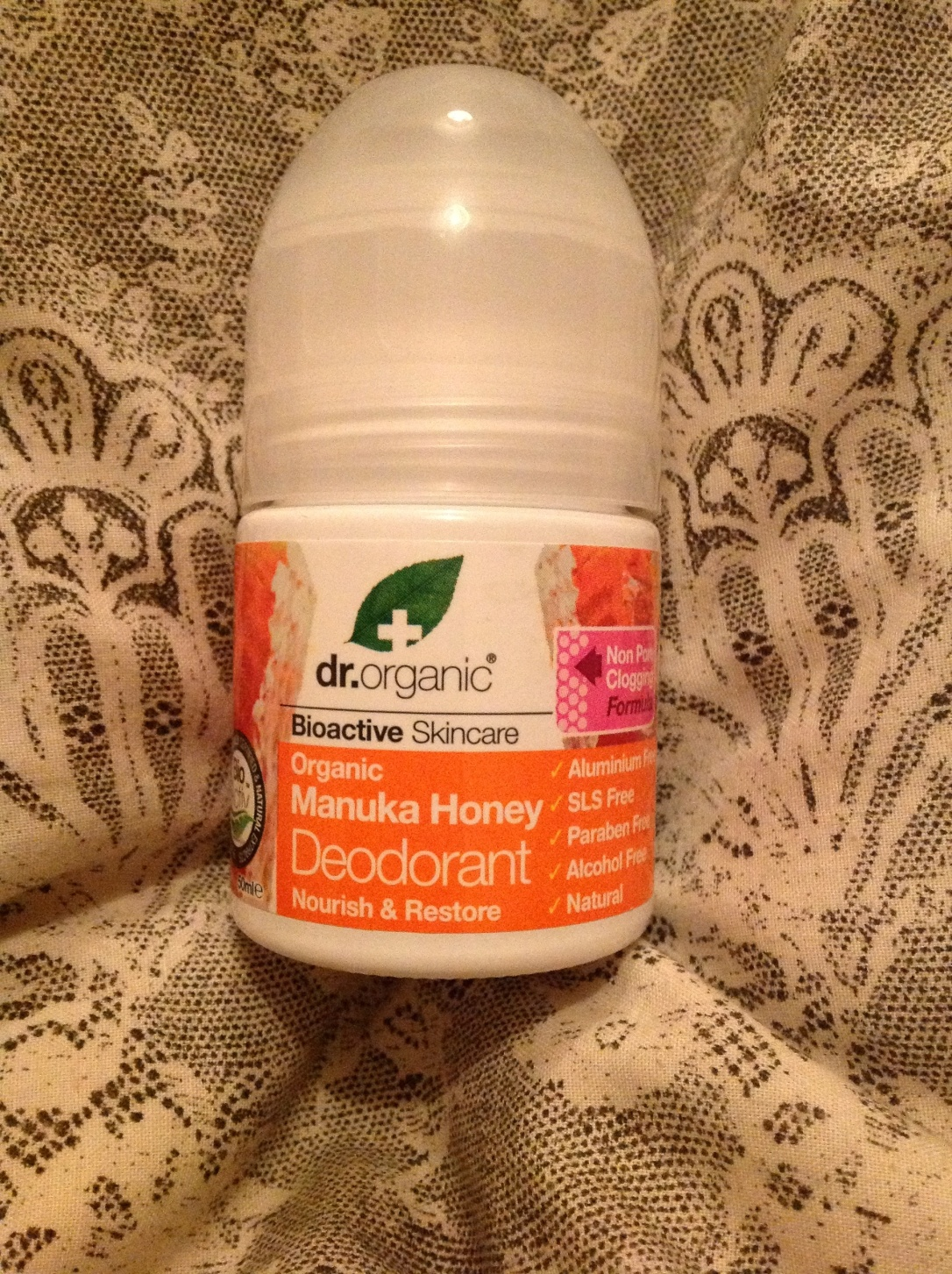 Dr organic manuka honey deodorant