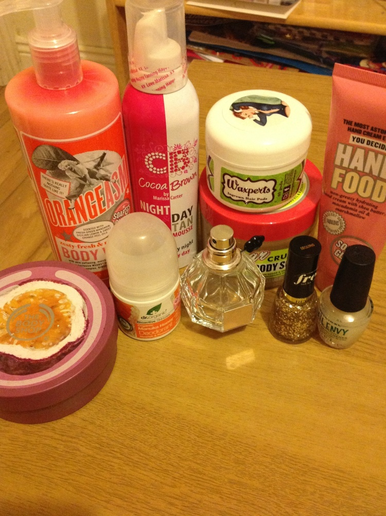 My 2014 Body Care Favourites