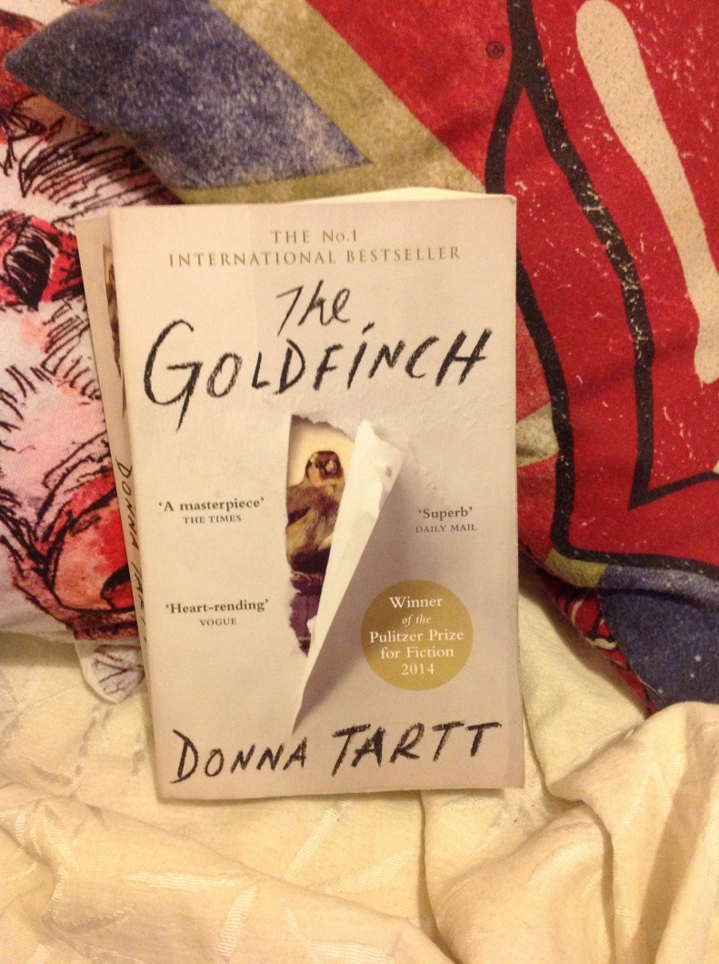 The goldfinch by Donna tartt review