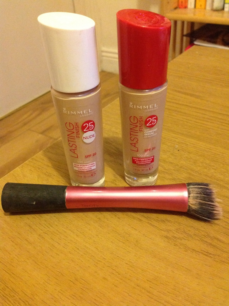 Rimmel Lasting Finish 25hr foundation old and new review